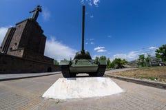El tanque t34 Imágenes de archivo libres de regalías
