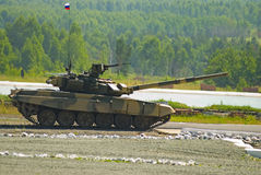 El tanque T-80 imágenes de archivo libres de regalías