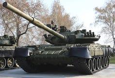 El tanque T-80. Imagen de archivo