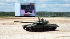 El tanque T-72 metrajes