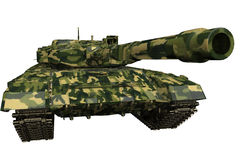 El tanque T90 aislado Foto de archivo libre de regalías