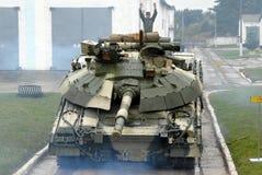 El tanque ucraniano Imagenes de archivo