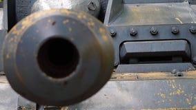 El tanque viejo almacen de metraje de vídeo