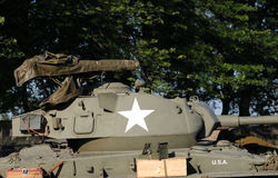El tanque viejo foto de archivo libre de regalías