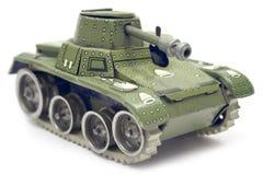 El tanque viejo del juguete Foto de archivo