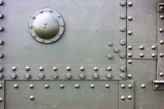El tanque viejo del metal Imagen de archivo libre de regalías