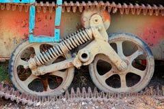 El tanque viejo oxidado Foto de archivo