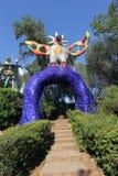 El tarot del jardín Fotos de archivo libres de regalías