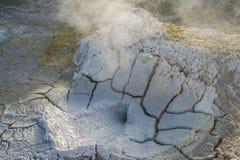 El Tatio喷泉阿塔卡马沙漠智利 免版税库存照片