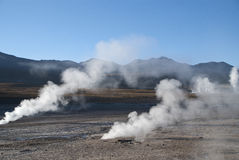 el tatio Fotografia Stock