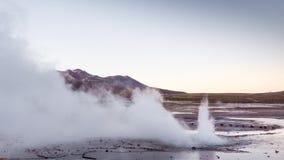 El Tatio gejzery blisko San Pedro De Atacama, Chile, - El Tatio jest fotografia stock