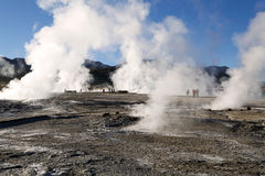 El Tatio gejzery, Chile Fotografia Royalty Free