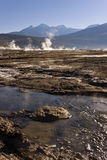 El Tatio Geyser Field - Chile Stock Photos