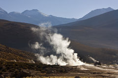 El Tatio Geyser Field - Chile - South America Stock Image