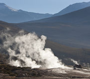 El Tatio Geysers - Atacama Desert - Chile Royalty Free Stock Photos
