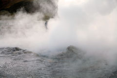 El Tatio geysers, Chile Stock Photos