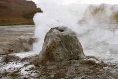 El Tatio geysers, Chile Stock Photo