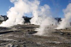 El Tatio geysers, Chile Royalty Free Stock Photography