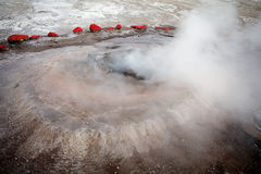 El Tatio geysers, Chile Stock Images