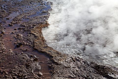 El Tatio geysers, Chile Royalty Free Stock Image