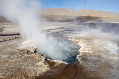 El Tatio geysers, Chile Royalty Free Stock Images