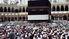 El Tawaf - arround que circunda Kaaba metrajes