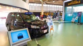 El taxi de JPN se prepara para 2020 olímpico en Tokio, Japón fotos de archivo libres de regalías