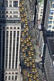 El taxi de Nueva York Imagen de archivo libre de regalías