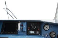 El taxi del operador del tren Fotografía de archivo