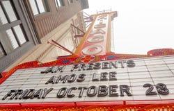 El teatro de Chicago imágenes de archivo libres de regalías