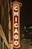 El teatro de Chicago era el 1r palacio grande de la película en América, y 3 Fotos de archivo libres de regalías