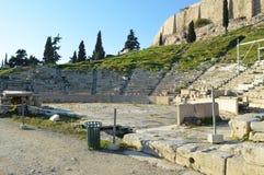 El teatro de Delphi, Grecia en Atenas Foto de archivo libre de regalías