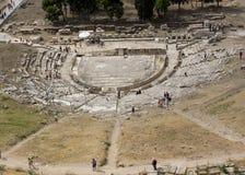 El teatro de Dionysus Eleuthereus imagenes de archivo