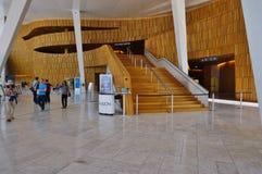 El teatro de la ópera de Oslo foto de archivo libre de regalías