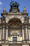 El teatro de la ópera de Semper en Dresden Foto de archivo libre de regalías