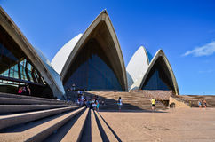 El teatro de la ópera de Sydney fotos de archivo
