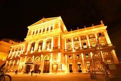 El teatro de la ópera en Viena fotografía de archivo