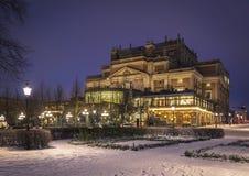 El teatro de la ópera real, Estocolmo suecia Fotografía de archivo