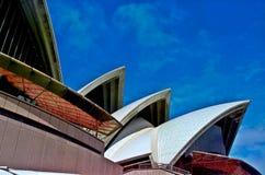 El teatro de la ópera de Sydney fotos de archivo libres de regalías