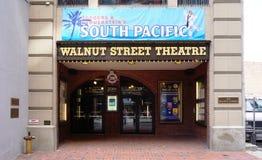 El teatro de la calle de la nuez en Philadelphia Imagen de archivo libre de regalías