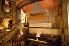 El teatro de la jaula de pájaros - interior Foto de archivo