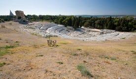El teatro del griego clásico Foto de archivo libre de regalías