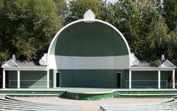 El teatro en parque Foto de archivo