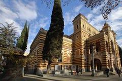 El teatro nacional georgiano de la ópera y de ballet de Tbilisi imágenes de archivo libres de regalías
