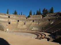 El teatro romano Foto de archivo libre de regalías