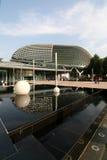 El teatro Singapur de la explanada fotografía de archivo libre de regalías