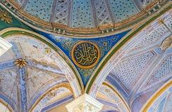 El techo de Aladdin Mosque Imagen de archivo