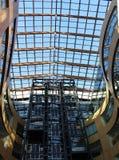 El techo de cristal Fotos de archivo libres de regalías