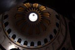 El techo de la iglesia de la tumba. Fotos de archivo libres de regalías