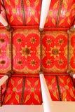 El techo del templo de Tailandia Fotos de archivo libres de regalías